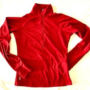 Lucy quarter zip workout top